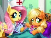 Play Applejack Stomach Care Game