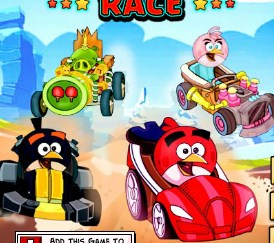 Play Angry Birds Racing Game