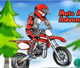 Play Moto Alpine Adventure Game